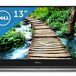 Dell laptop mobile XPS 13 Core i7 QHD Office model Silver 16Q37HB / Windows10 / 13.3 inch Touch / 8GB / 256GB SSD