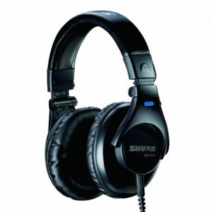 [Domestic regular goods] SHURE sealed professional studio headphones SRH440-A