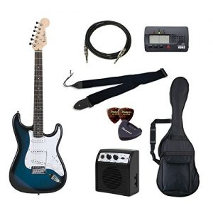 PhotoGenic electric guitar beginner introductory Value Set Stratocaster type ST-180 / BLS Blue San deals introductory set that aligned the minimum of items in order to burst rosewood fingerboard