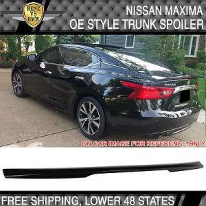 USA Stock Fit 16-17 Maxima OE ABS Trunk Spoiler Painted Bordeaux Black # GAB  ...