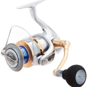 Hoisting power improvement than the previous model with Shimano reel 13 bio master SW 4000XG