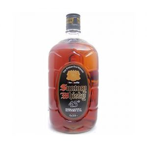 And dry taste of Suntory square bottle (black) 43 ° jumbo 1920ml 1 this