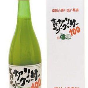 Blue cut Shikuwasa 100 (500ml) × 8 pieces JAN: 4571109820012