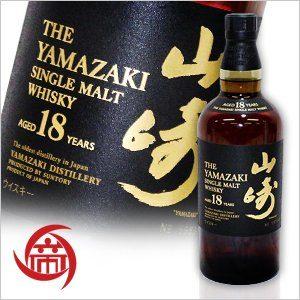 From the malt barrels sleep in Suntory Yamazaki 18 years 700ml