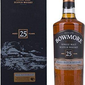 Single malt whiskey Bowmore 25 years 700ml