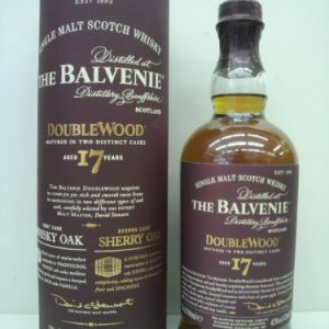 The Baruveni 17 years Double Wood (※ parallel goods) 43 degrees 700ml