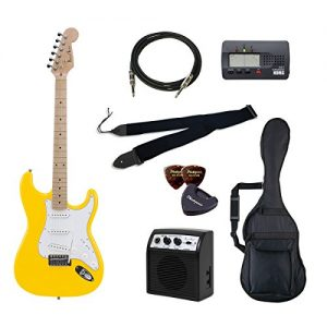 PhotoGenic electric guitar beginner introductory Value Set Stratocaster type ST-180M / YW deals introductory set aligned the minimum of items to yellow maple fingerboard
