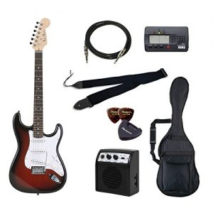 PhotoGenic electric guitar beginner introductory Value Set Stratocaster type ST-180 / RDS Red San deals introductory set that aligned the minimum of items in order to burst rosewood fingerboard