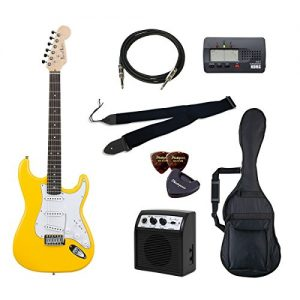 PhotoGenic electric guitar beginner introductory Value Set Stratocaster type ST-180 / YW deals introductory set aligned the minimum of items to yellow rosewood fingerboard