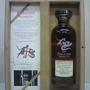 In barrels The English whiskey Founders private cellar Piteddo Sauternes cask 4 2007 61.2 degrees 700ml ◆