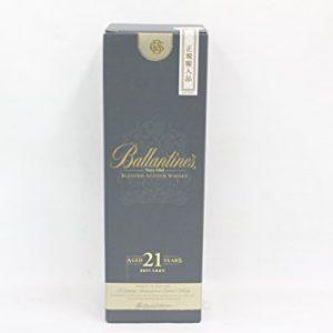 Ballantine regular imported item 21 years Ballantine with box