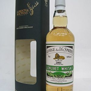Glenlivet 2001 (15 years) Smith (Gordon & McFile) 43 degrees 700 ml