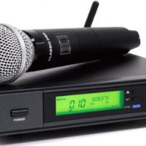 【Domestic Genuine】 CLASSIC PRO Classic Pro Wireless Set CWM 801S PLUS Wireless Microphone Set
