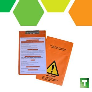We now stock #tremcard holders - durable #ADR clipboard to display dangerous go...